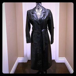 Jackets & Blazers - Leather TrenchCoat